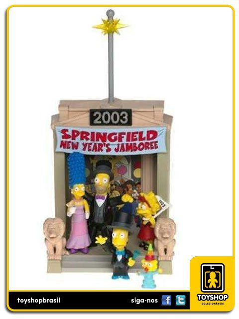 The Simpsons Box 5 Figuras Exclusivo Playmates