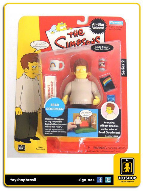 The Simpsons Brad Goodman Playmates