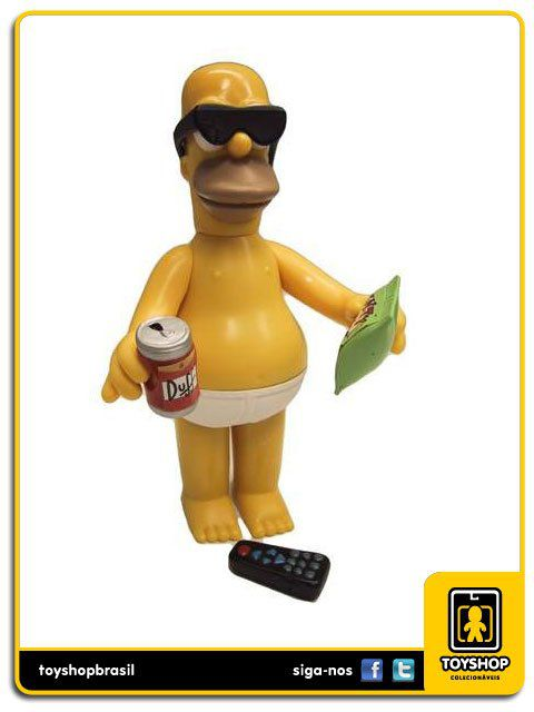 The Simpsons Casual Homer Playmates