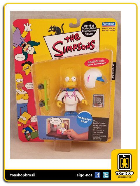 The Simpsons Daredevil Bart Playmates