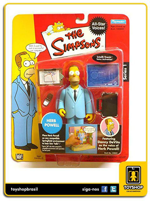 The Simpsons Herb Powell Playmates