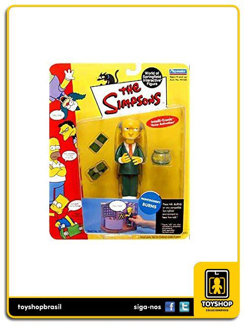 The Simpsons Montgomery Burns Playmates
