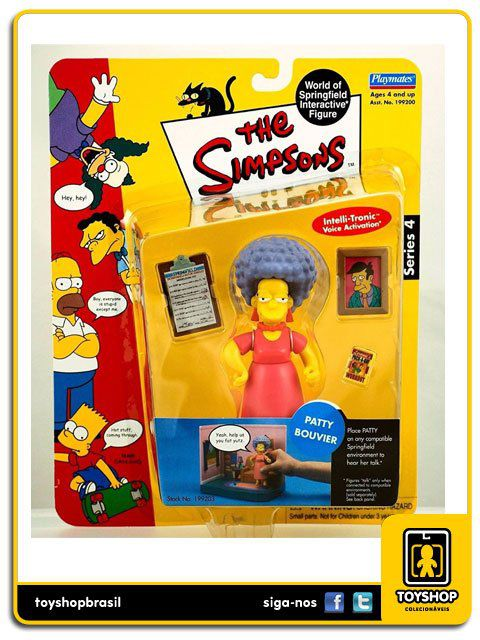 The Simpsons Patty Bouvier Playmates