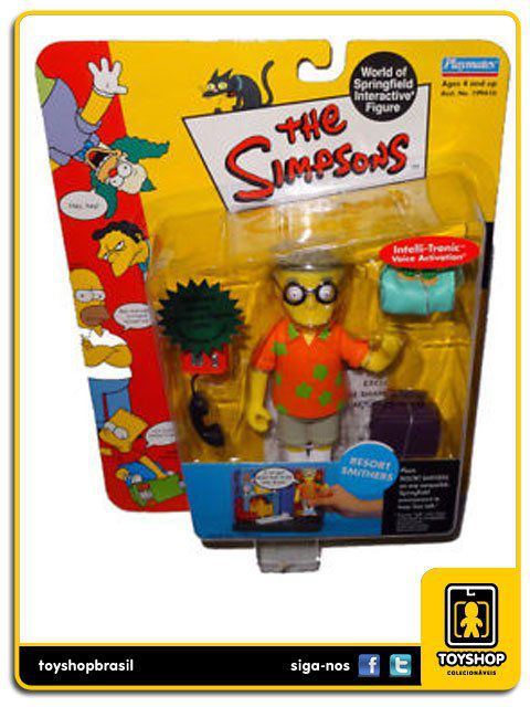 The Simpsons Resort Smithers Playmates