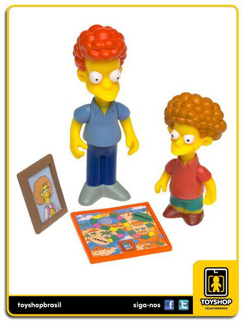 The Simpsons Rod & Todd Flanders Playmates