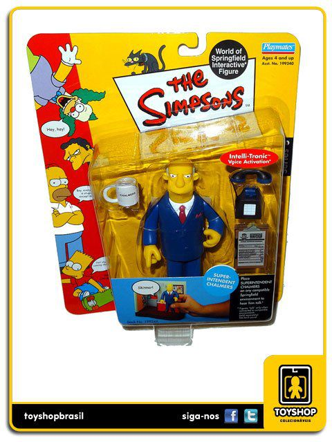 The Simpsons Super Intendent Chalmers Playmates