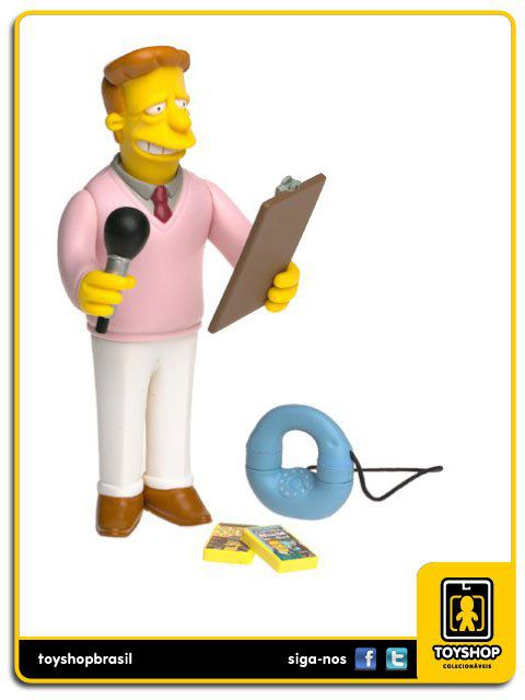 The Simpsons Troy Mcclure Playmates