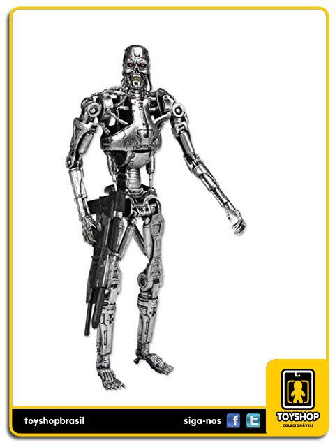 The Terminator Classic T-800 Endoskeleton  Neca