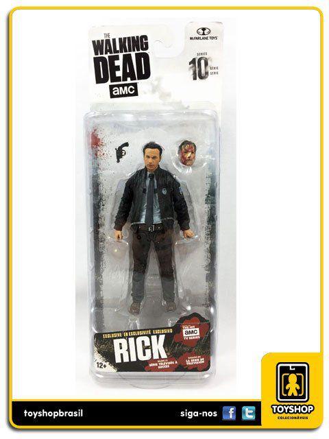 The Walking Dead 10: Rick Grimes Exclusivo - Mcfarlane