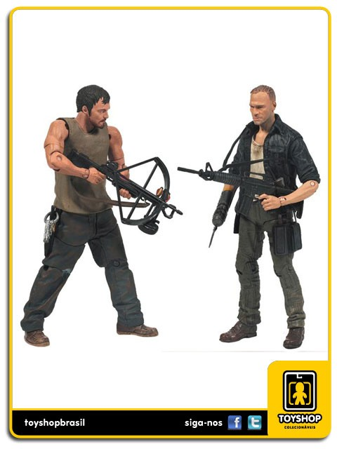 The Walking Dead 4 Daryl Dixon & Merle pack 2 Mcfarlane