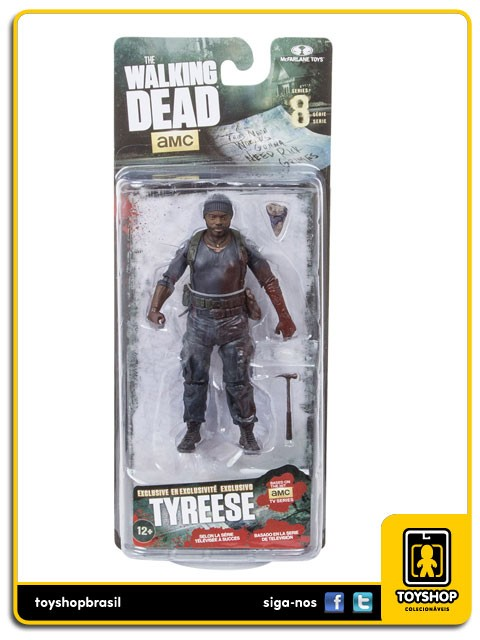 The Walking Dead 8 Tyreese Exclusive Mcfarlane