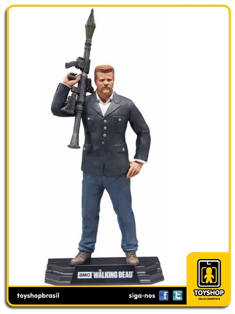 The Walking Dead Abraham Ford Color Tops Mcfarlane Toys