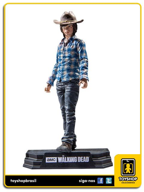 The Walking Dead Carl Grimes  Color Tops Mcfarlane Toys