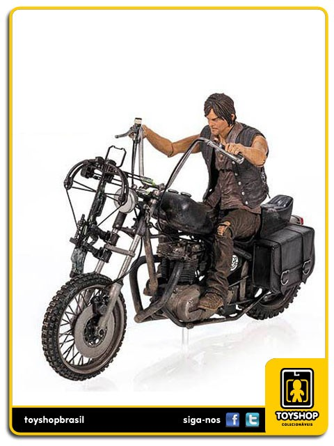 The Walking Dead Daryl Dixon with Chopper Deluxe Boxed Set Mcfarlane