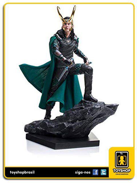 Thor Ragnarok BDS Loki 1/10 Iron Studios