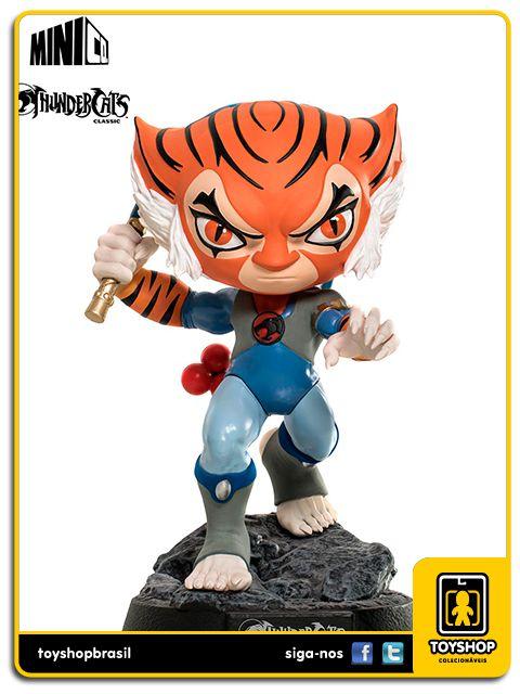 Thundercats Classic Boneco Tygra Minico Iron Studios
