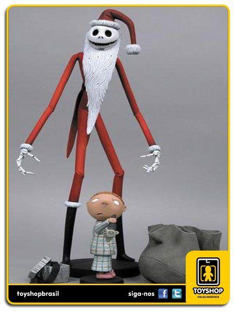 Tim Burton´s Nightmare Before Christmas  Santa Jack Neca