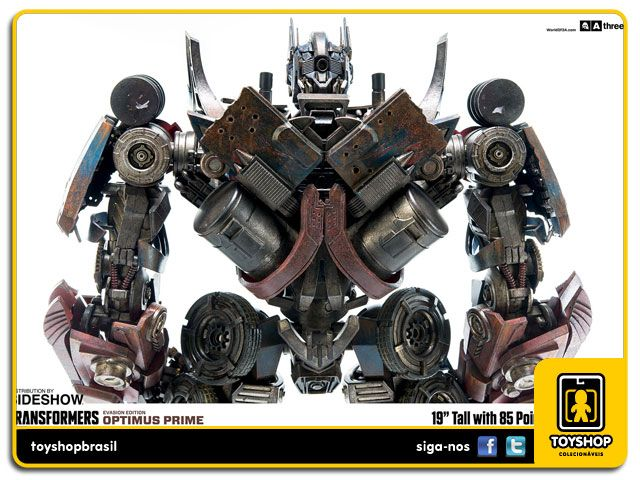 Transformers Optimus Prime Premium Evasion Edition 1/6 ThreeA