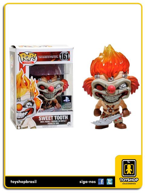Twisted Metal Sweet Tooth Oficial 161 Pop Funko