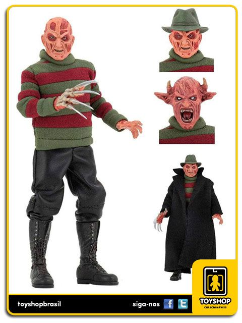 Wes Craven´s a nightmare:  Freddy Krueger 8´ Retro - Neca