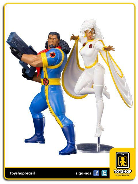 X-Men 92 Bishop & Storm Pack 1/10 ArtFX Kotobukiya