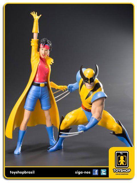X-Men 92 Wolverine & Jubilee Pack 1/10 ArtFX Kotobukiya