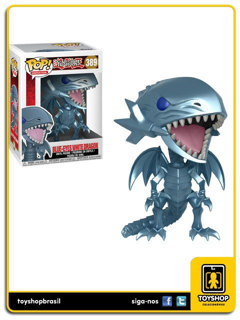 Yu-Gi-Oh! Blue-Eyes White Dragon 389 Pop Funko