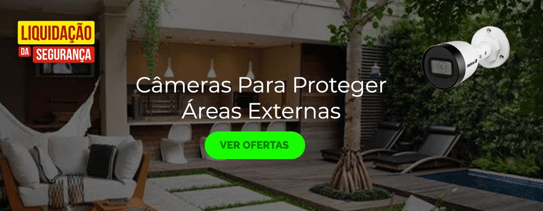 Soluções de Câmeras para Área Externas