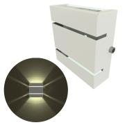 Arandelas 2 Frisos Moderna, Luminária - Soquete G9 - Para Ambientes Internos e Externos Mf103