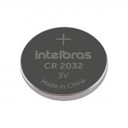 Bateria botão de lítio 3V CR 2032 unidade - Intelbras