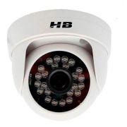 Câmera Dome Infravermelho Híbrida HB Tech HB-2001 HD 720p - Multi HD - HDCVI, HDTVI, AHD, ANALÓGICO