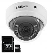 Câmera Intelbras Dome IP Wi-Fi VIP 1230 D W, IR 30m - 2 MP, H.265 Full HD + Cartão de Memória