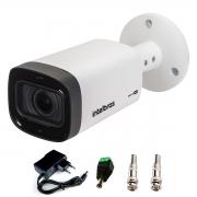 Câmera Intelbras Varifocal Multi HD VHD 3240 VF G6 IP67 IR 40m  HDCVI, HDTVI, AHD e Analógico + Fonte e Acessórios