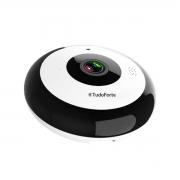 Câmera IP Fisheye 360º Full HD Wi-fi 2MP Onvif Áudio Cam-5706 Para Teto