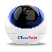 Câmera IP Sem Fio Wifi HD 720p Wireless, Com áudio, Grava em Cartão SD, com Auto Tracking e Sensor de Movimento