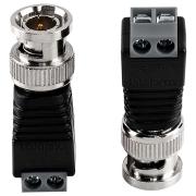 Conector Plug BNC BORNE Intelbras CONEX 1000, 10 Unidades