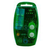 Controle Remoto TX Flex Ipec Verde 433,92 MHz