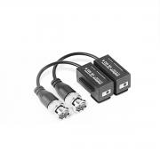 Conversor Balun Passivo Intelbras VB 503 B - Compatíveis com Analógicas HD, Full HD, 4MP e 4K