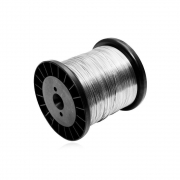 Fio De Aço Inox 0,45MM para Cerca Elétrica 500g, Aproximadamente 345 Metros