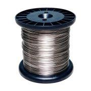Fio De Aço Inox 1,20MM para Cerca Elétrica com 100 Metros
