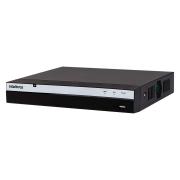 NVD 3204 P Gravador de imagem em rede PoE Intelbras 4k ULTRA HD, 4 Canais IP, H265 Detecção Inteligente