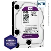HD Interno WD Purple 10TB Surveillance SATA III 6GB/s 5400 RPM WD100PURZ