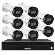 Kit 08 Câmeras IP HD 720p Intelbras VIP 1020 B G2 + NVD 1308