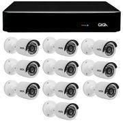 Kit 10 Câmeras de Segurança Full HD 1080p Giga Security GS0027  + DVR Giga Security 4MP + Acessórios