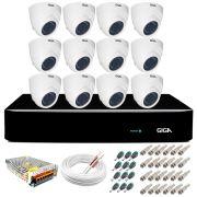 Kit Orion Giga Security 12 Câmeras HD 720p GS0019 + DVR Full HD + Acessórios