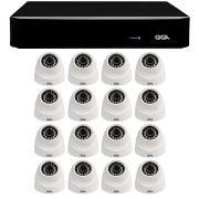 Kit 16 Câmeras de Segurança 1MP HD 720p Giga Security GS0012 + DVR Full HD 1080N 5 em 1 Giga Security + Acessórios
