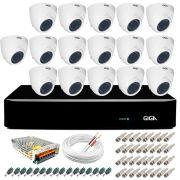 Kit Orion Giga Security 16 Câmeras HD 720p GS0019 + DVR Full HD + Acessórios