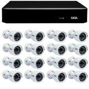 Kit 16 Câmeras de Segurança Full HD 1080p Giga Security GS0029  + DVR Giga Security 4MP + Acessórios