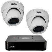 Kit HD 720p 02 Câmeras GS0021 + DVR Giga Security + Acessórios