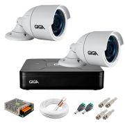 Kit 2 Câmeras GS0022 HD 720p Giga Security + DVR Giga Security Multi HD + Acessórios